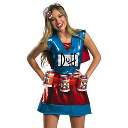 Deluxe Women's Simpsons Duffwoman Costume
