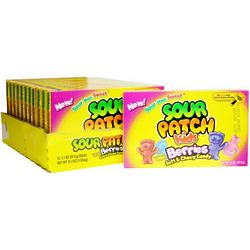 Sour Patch Kids Berries Theater Size Candy Boxes