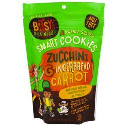 Zucchini Gingerbread Carrot Brainfood Cookies