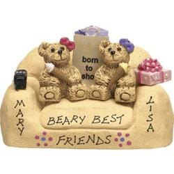 Friends Forever Teddy Bears on Loveseat