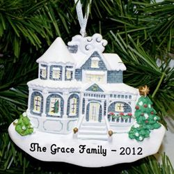 Holiday Home Personalized Ornament