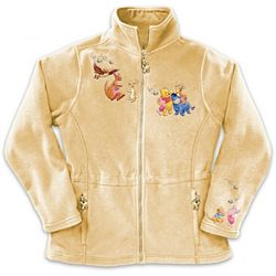 Disney Winnie The Pooh Characters Fleece Jacket