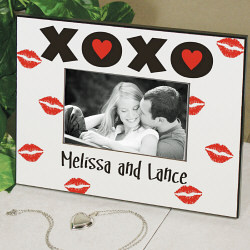 XOXO Personalized Picture Frame