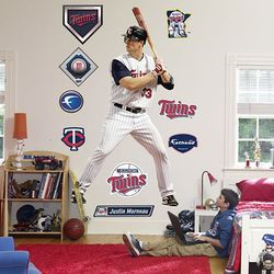 Minnesota Twins Justin Morneau Wall Decal