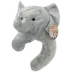 Asian Elephant Travel Buddy Neck Pillow and Blanket