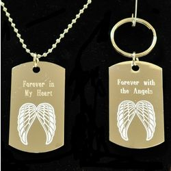 Engraveable Memorial Dog Tag