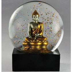 Gold Buddha Serenity Snow Globe