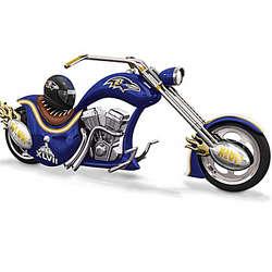 Baltimore Ravens Super Bowl XLVII Champions Motorcycle