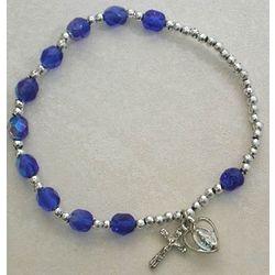 December Birthstone Rosary Bracelet