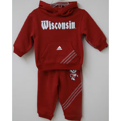 Wisconsin Badgers Toddler Hoodie and Pants Set