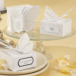 3-D Butterfly Favor Boxes