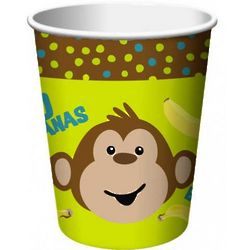 Monkey Themed Paper Cups