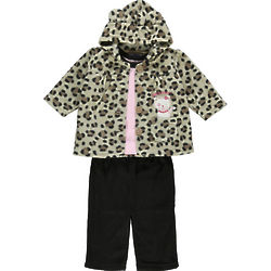 Sweetheart Kitten 3-Piece Fleece Set