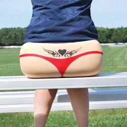 Sweet Cheeks Tooshie Cushy Stadium Seat