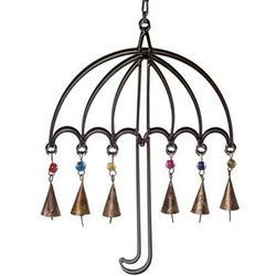 Metal Umbrella Wind Chime