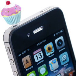 Cupcake Cell Phone Charm