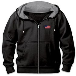 Never Forgotten POW-MIA Men's Fleece Hoodie