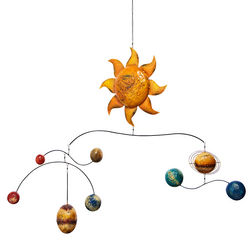 Sheet Metal Solar System Mobile