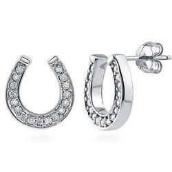 Horseshoe Fashion Stud Earrings