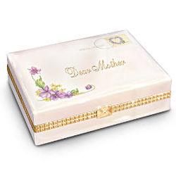 Dear Mother Porcelain Music Box