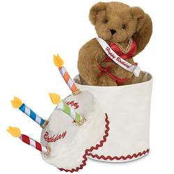 Birthday Cake Hottie Teddy Bear Gift Set