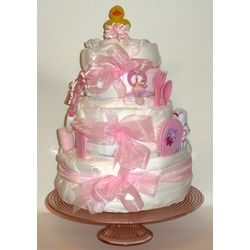 3 Layer Disposable Diaper Baby Cake