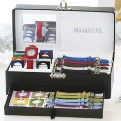 Interchangeable Colorful Watch Bands Set
