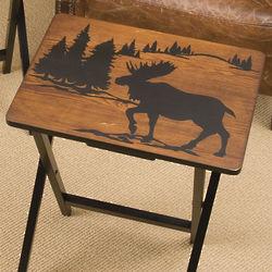 Wilderness TV Tray Set