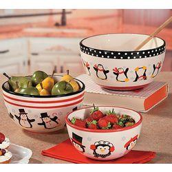 Penguin Mixing Bowls