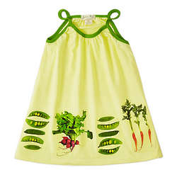 Farmer's Market Toddler Dress