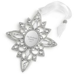 Engravable 2012 Make-A-Wish North Star Christmas Ornament