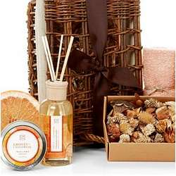 California Groves Fragrance Spa Basket