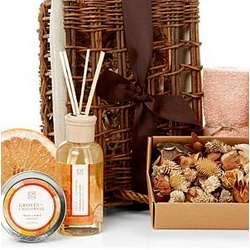 California Groves Fragrance Spa Basket