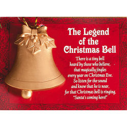 Legend of the Christmas Bell Ornament