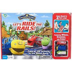 Let's Ride the Rails Safari Park Game