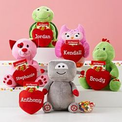 Plush Pocket Pal with Personalized Heart