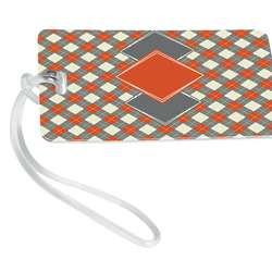 Argyle Luggage Tag