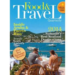 Food & Travel Quarterly Magazine Subscription 4 Issues