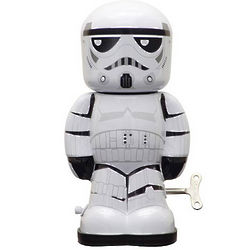 Stormtrooper Wind-Up Tin Toy