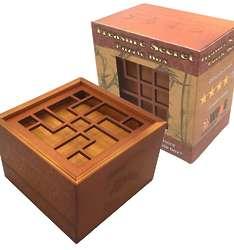 Treasure Secrets Double Compartment Puzzle Box
