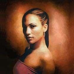 Jennifer Lopez Limited Edition Fine Art Print
