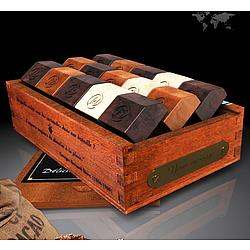 Wisdom Mahogany Keepsake Box of Chocolates
