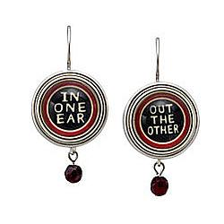 In One Ear, Out The Other Earrings