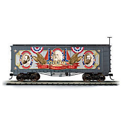 150th Anniversary Civil War Boxcar Train Car
