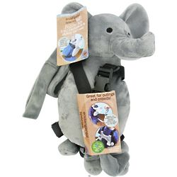 Elephant Endangered Species Follow Me 2 in 1 Backpack