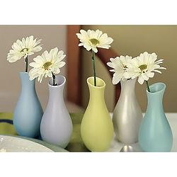 Pastel Party Favor Vases