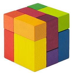 Playable Wood Art Cube