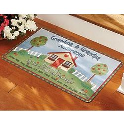 Personalized Let the Spoiling Begin Doormat