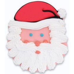 12 Santa Face Cookies