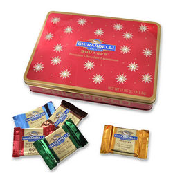 Festive Premium Chocolate Assortment Tin